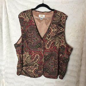Women's Talbots Rayon Vest